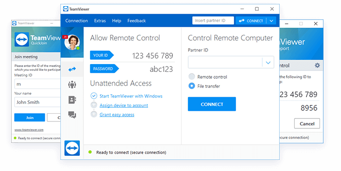 Teamviewer-remote-access