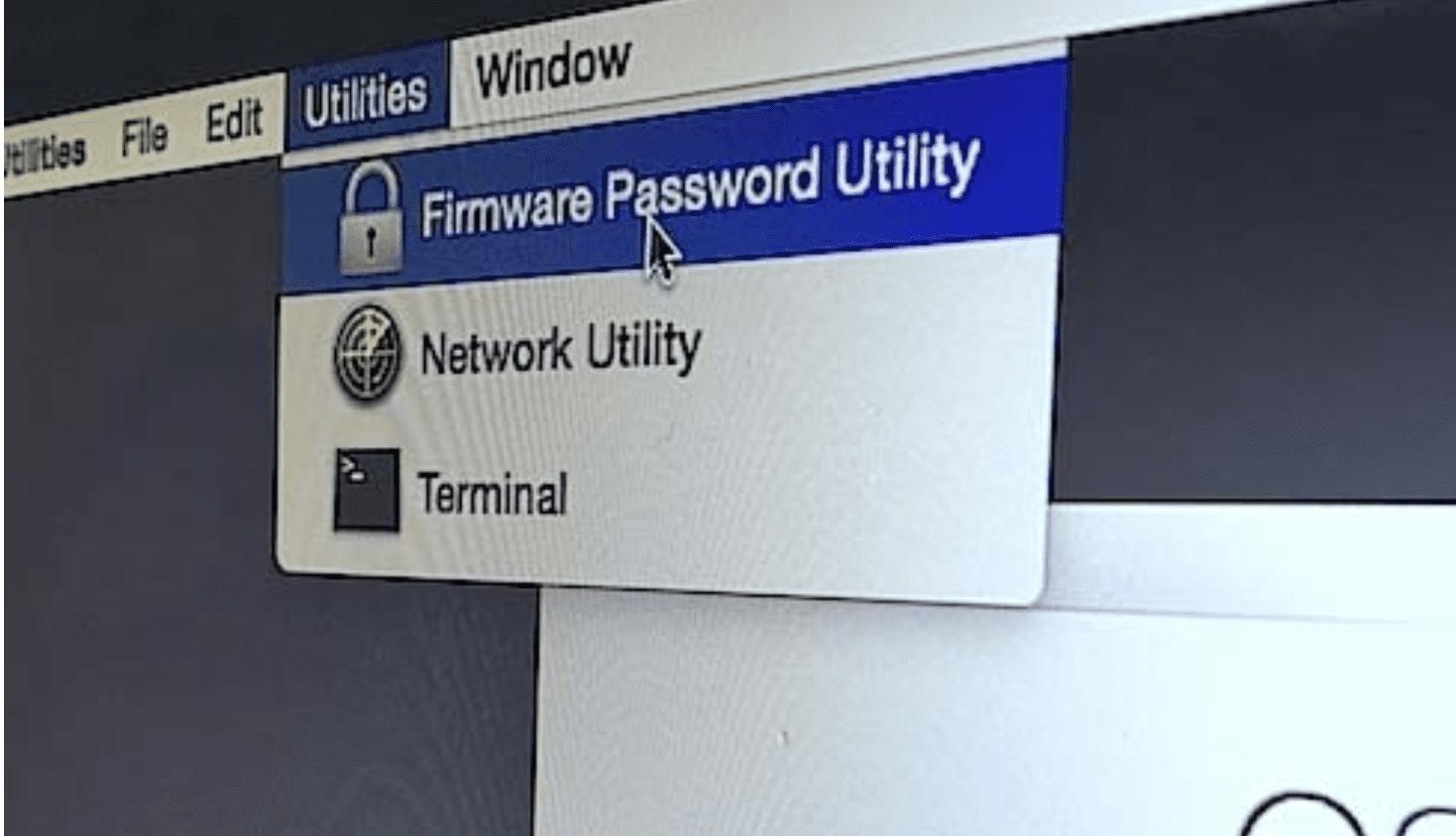 firmware password