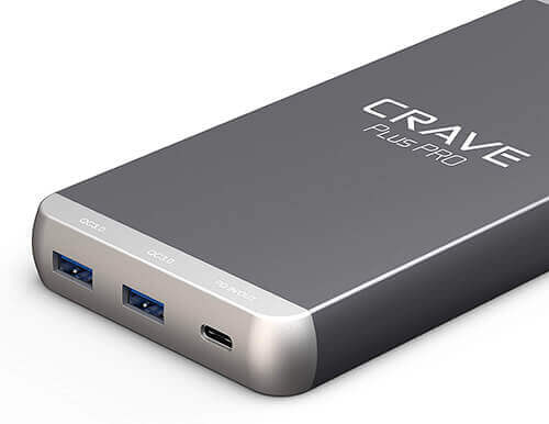 Crave-Plus-Pro-20000mAh-45W-Power-Delivery-Portable-Charger