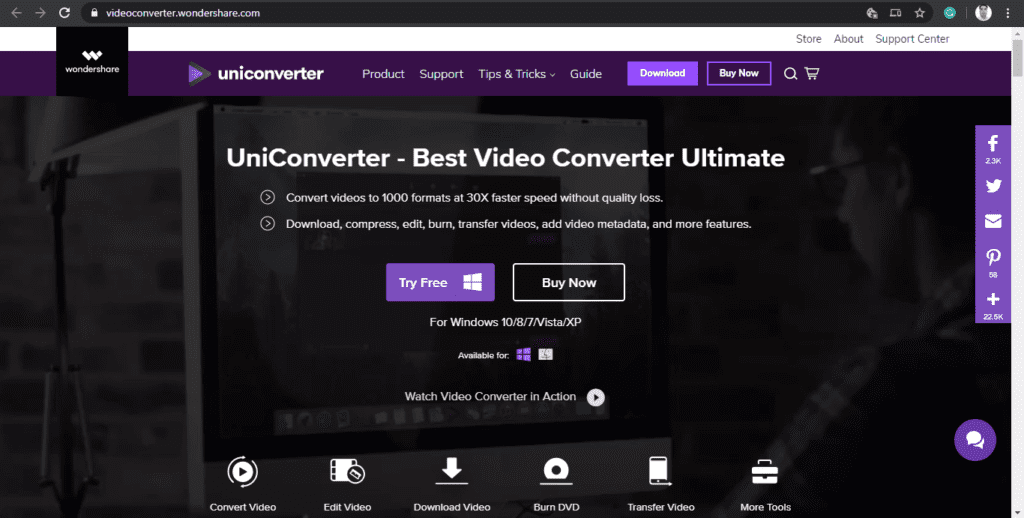 Windoweshare video converter