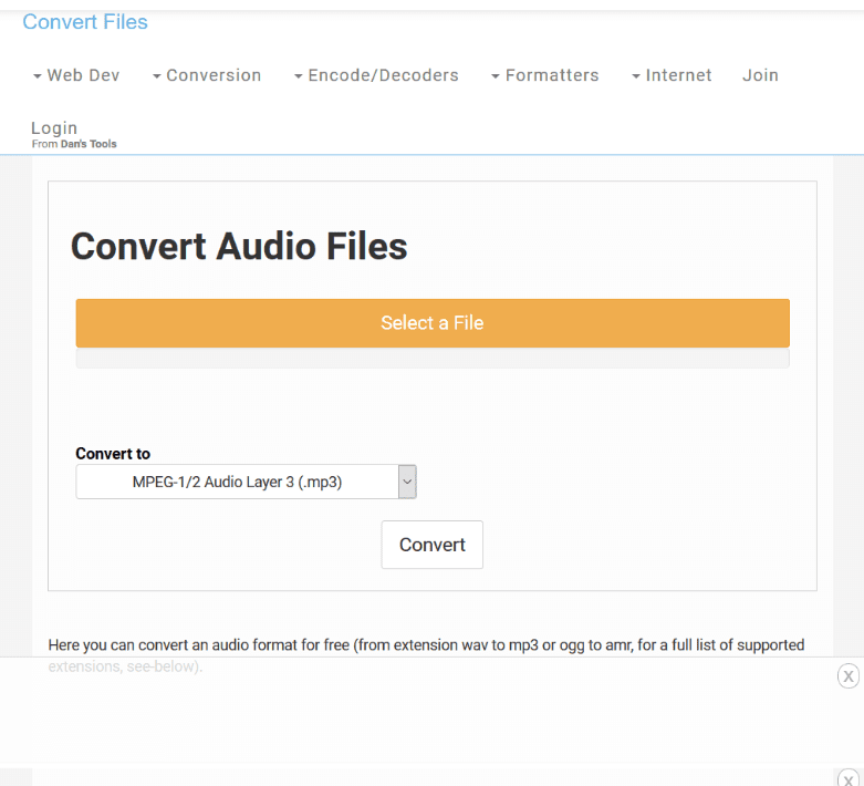 Convert Files