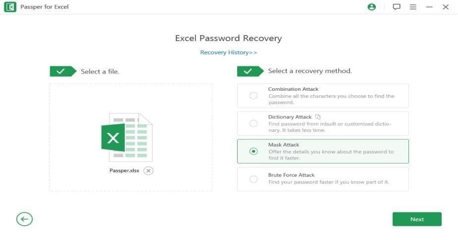 Passper For Excel