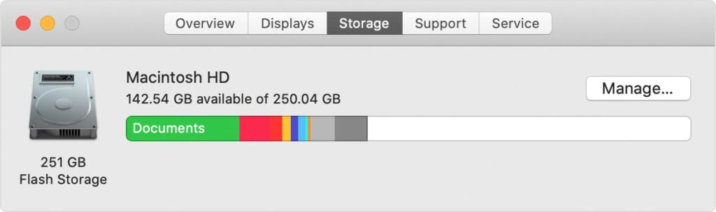 Clean up Disk Storage