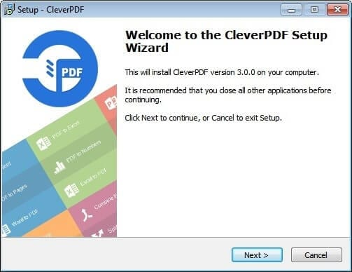 How to install CleverPDF