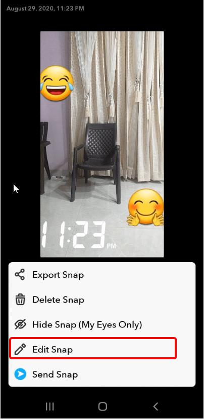 edit snap