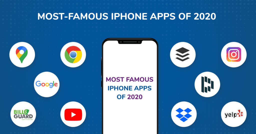 Most-famous iPhone apps