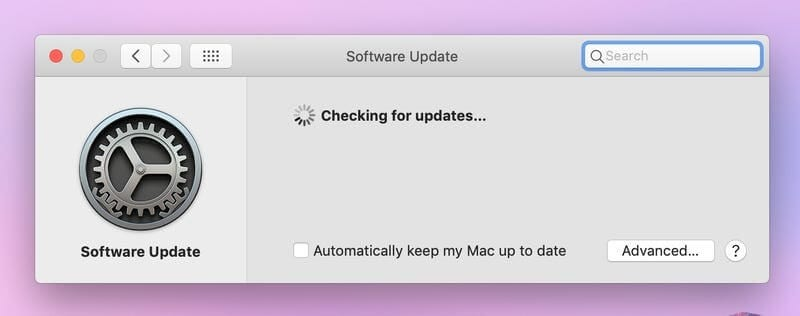 find all available updates mac