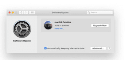 mac software update