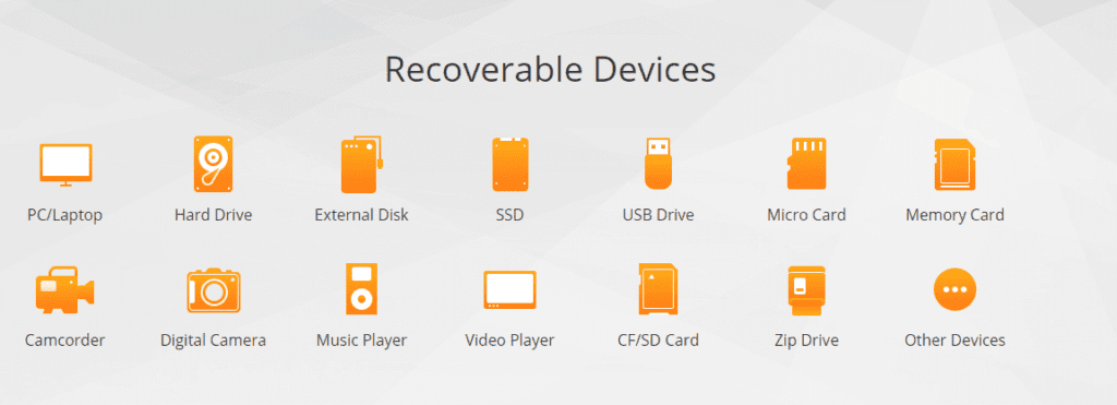 recoverable devices