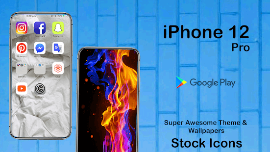 iPhone 12 Pro Launcher 2020