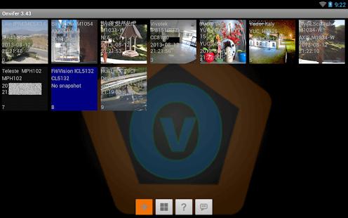 ONVIF IP Camera Monitor