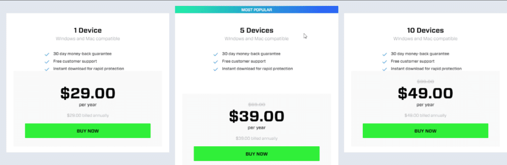 cylance pricing
