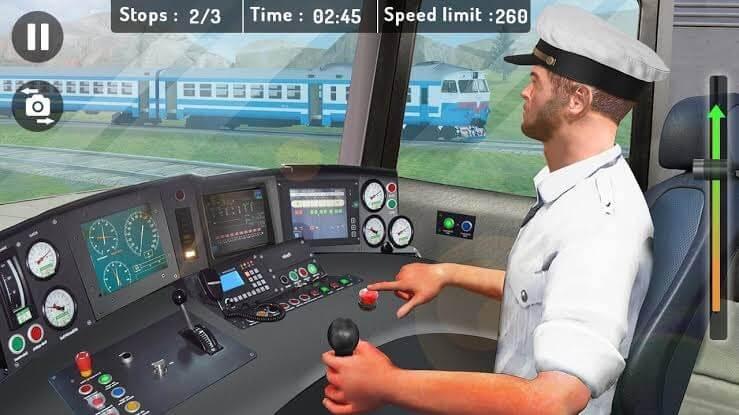 Modern Train Driver