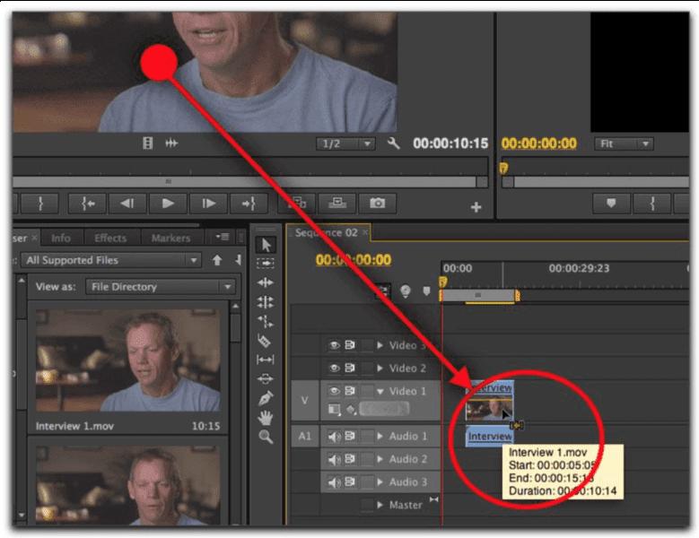 Adobe Premiere Pro tool