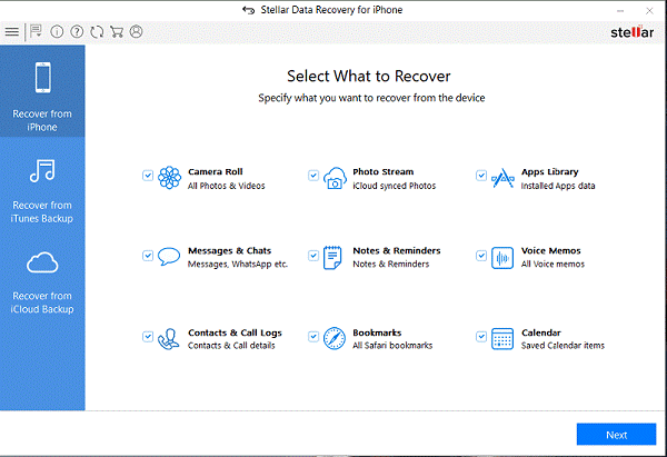Instagram Photo Recovery Software For iPhone