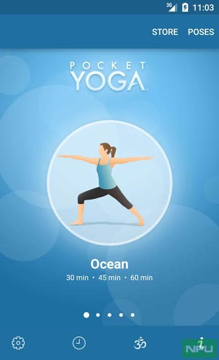 Pocket Yoga by Rainfrog