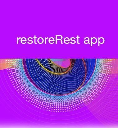 restore REST app