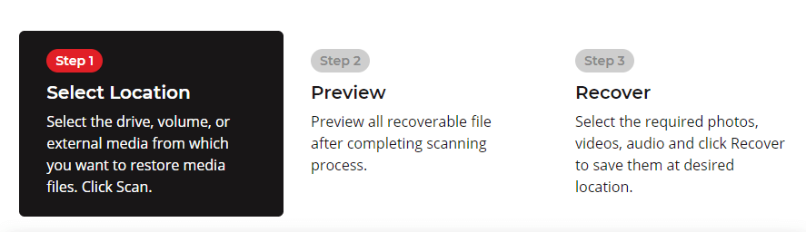 How to use Stellar Photo Recovery