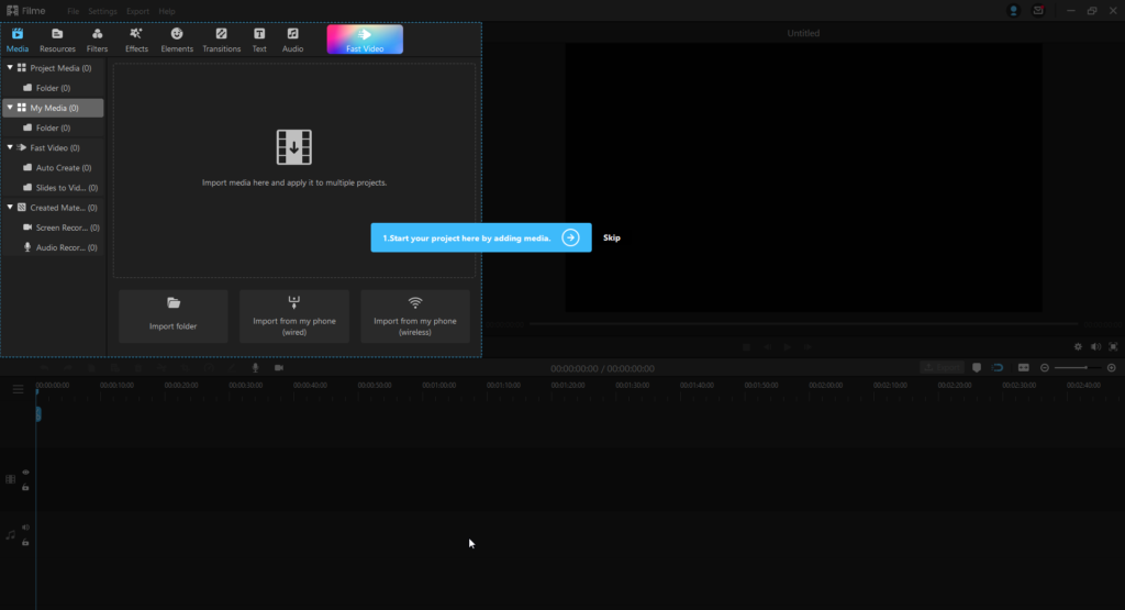 How to use iMyFone Filme video editor